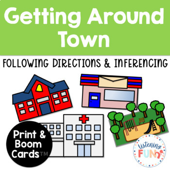 Getting Around Town: Listening Activity