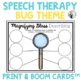 SPRING BUGS Speech Therapy Themed Packet for Mixed Groups