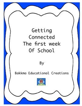 Getting Connected the First Week of School