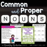 Common Nouns and Proper Nouns: A Resource Pack