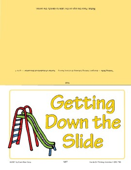 Getting Down the Slide