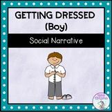 Getting Dressed (Boy) - Social Story (FULL VERSION)