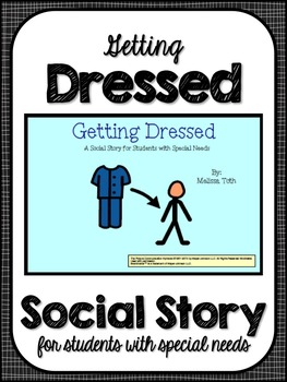Getting Dressed- Social Story for Students With Special Needs