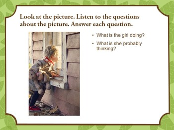 Getting Grade 1-2 ELLs Ready for the NYSESLAT (Speaking - Picture Description)