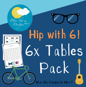 Getting Hip with the Number 6 (6x Tables)