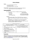Getting Ideas & Using Organization in Writing: 1st Grade Lesson with Folktales