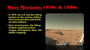 Getting Lost In Space: Mars, The Red Planet