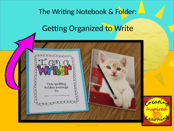 The Writing Notebook & Folder, A PowerPoint Lesson