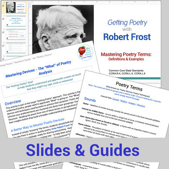 Getting Poetry - Mastering Poetic Devices using Quizlet - Google version