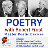 Getting Poetry - Mastering Poetic Devices using Quizlet -
