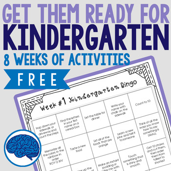Getting Preschoolers Ready for Kindergarten | Summer Activity Pack