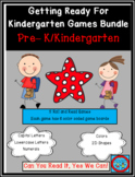 Getting Ready For Kindergarten Games Bundle