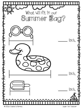 Getting Ready for 2nd Grade - No Prep Math Worksheets
