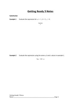 Getting Ready for Arithmetic Sequences Lesson 3 of 10