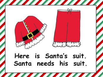 Getting Ready for Christmas Eve Kindergarten Shared Reading PowerPoint
