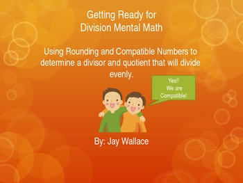 Getting Ready for Division Mental Math
