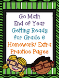 Getting Ready for Grade 6 Math Homework/ Extra Practice