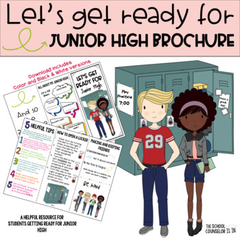 Getting Ready for Junior High Brochure