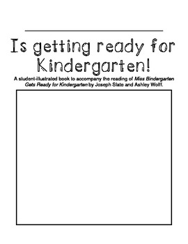 Getting Ready for Kindergarten Booklet