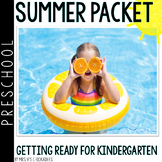 Getting Ready for Kindergarten: Pre-K Summer Packet