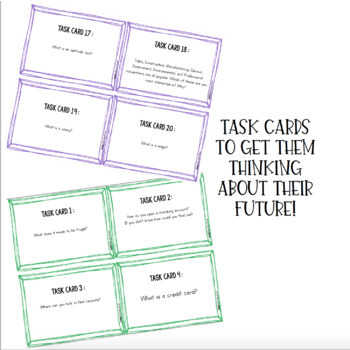 Getting Ready for My Future! {A Career Exploration Bundle}
