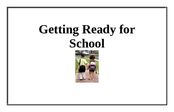 Getting Ready for School Beginning Reader