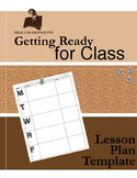 Getting Ready for School: Lesson Plan Template