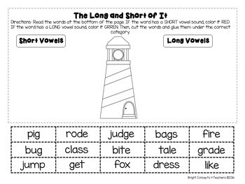 Summer Review Packet {1st to 2nd Grade}