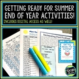 "Getting Ready for Summer ""Last Days of School"" activities"