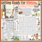 Getting Ready for Winter Puzzles – What People and Animals