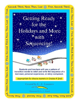 Getting Ready for the Holidays and More with Transition Word Sequencing!
