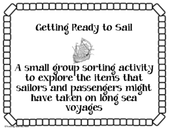On the Mayflower: Getting Ready to Sail