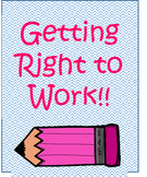 Getting Right to Work Brag Tag
