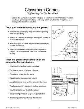 Getting Started (Math with Games)