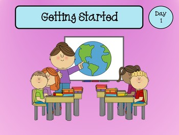 Getting Started Reading (Back to School - First 10 Days of First Grade)