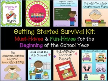 Getting Started Survival Kit:  Must-Haves & Fun-Haves