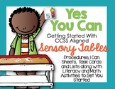 Getting Started With Sensory Table -Sensory Bin Activities