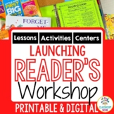 Getting Started in Reader's Workshop - A Unit of Study {Common Core Aligned}