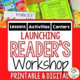 Launching Reader's Workshop  |  Printable or Digital (Goog