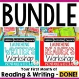 BUNDLE:  Launching Reader's and Writer's Workshop | Printa