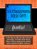 Getting Started in a 1:1 Classroom Freebie