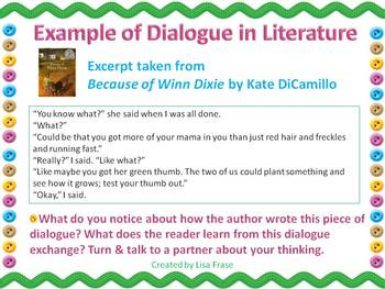 Getting Started with Dialogue PowerPoint Slideshow 2007 Mini Lesson