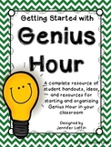 Getting Started with Genius Hour