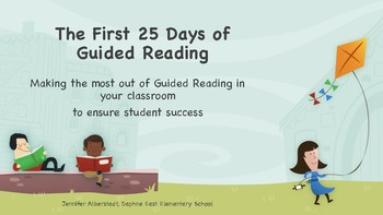 Getting Started with Guided Reading- The First 25 Days