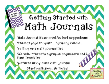 Getting Started with Math Journals
