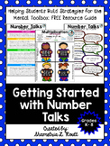 Getting Started with Math Number Talks Free E-Book