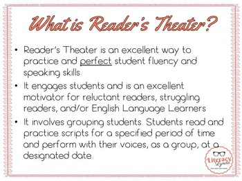 Getting Started with Reader's Theater