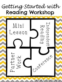 Getting Started with Reading Workshop-EDITABLE PAGES