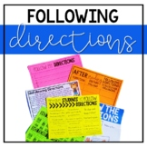 Getting Students to Follow Directions: Anchor Chart and Mi