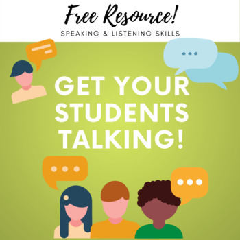 Getting Students to TALK in groups!